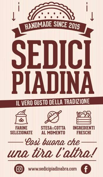 Sedici Piadina il vero gusto della riviera romagnola
